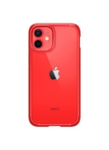 Spigen iPhone 12 Mini Kılıf, Ultra Hybrid Kırmızı